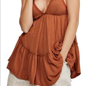 NWT Free People Bella Donna Sleeveless Tunic Top